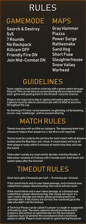 weekly cup rules2